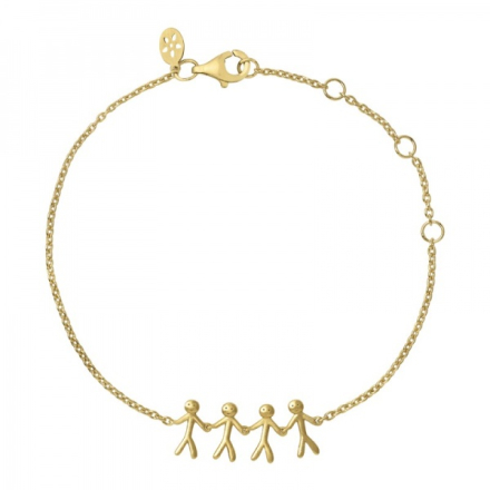 Together - Family bracelet 4 - gold
