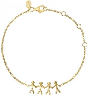 Together - Family bracelet 4 - gold
