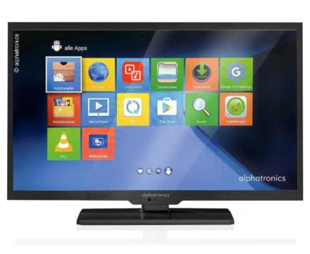 """ALPHATRONICS TV 19"""""""" LED TRIPLE TUNER DVB-S2/DVB-T2 MED DSB+"""