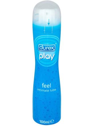 Durex Play: Feel, Vattenbaserat Glidmedel, 100 ml