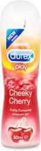 Durex Play: Cheeky Cherry, Smaksatt Glidmedel, 50 ml