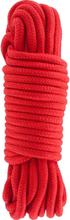Hidden Desire: Bondage Rope, 10m, röd