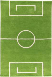Football matta grön 120 x 180 cm