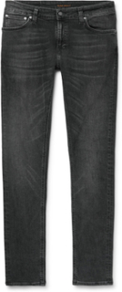 Nudie Jeans - Skinny Lin Organic Stretch-denim Jeans - Black - XXL,Nudie Jeans - Skinny Lin Organic Stretch-denim Jeans - Black - M,Nudie Jeans - Skinny Lin Organic Stretch-denim Jeans - Black - XL,Nudie Jeans - Skinny Lin Organic Stretch-denim Jeans - Bl