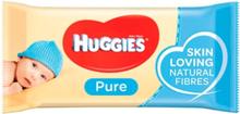Huggies Natte Doekjes Pure - 56 Stuks
