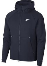 Nike Huppari NSW Tech Fleece - Navy/Valkoinen