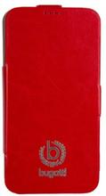 BUGATTI Mobilfodral för Samsung Galaxy S5 - Röd