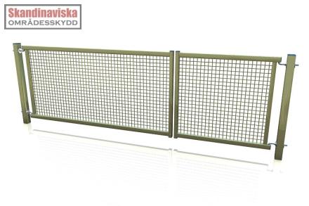 Nätgrind - Komplett dubbel OG Nätgrind DVG1000x3000mm OG