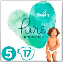 Pampers Pure Protection Luiers Str 5 (11+kg) - 17 STUKS