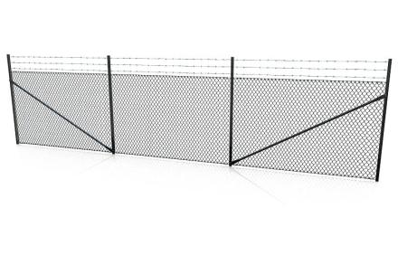 Industristängsel komplett SV STP100 Tagg SV 2000x50x30