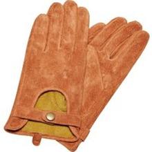 ONLY Wildleder Handschuhe Damen Braun