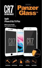 Apple iPhone 6/6s/7/8 Plus - White - CR7