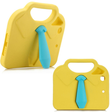 iPad Mini Børne Cover - 3D Slips m. Håndtag - Gul