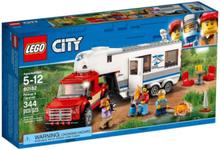 City 60182 Pickup och husvagn