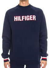 Tommy Hilfiger Modern Stripe Recycled Cotton Top Marineblå Medium Herre
