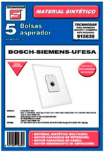 Tecnhogar Bosch/Siemens/Ufesa Stofzuigerzakken - 5 STUKS