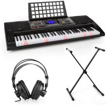 Etude 450 inlärning-keyboard-set studiohörlurar keyboard-stativ