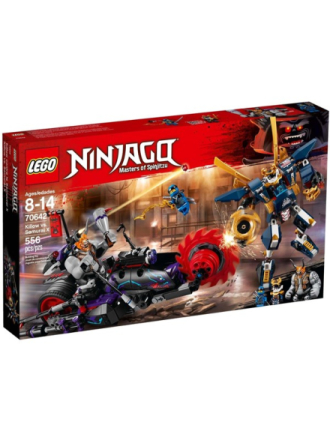 Ninjago 70642 Killow mod Samurai X - Proshop