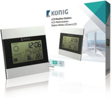LCD clock and weather station