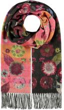 Cashmink®-Halsduk med blommönster - Made in Germany