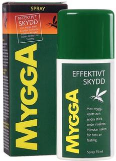 MyggA Spray DEET 75 ml