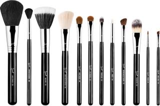 Sigma Essential Kit Professional Brush Collection, Sigma Beauty Borstar & Penslar