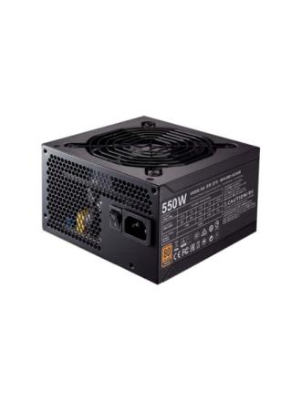 MWE Bronze 550 Strømforsyning - 550 Watt - 120 mm - 80 Plus Bronze certified