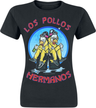 Breaking Bad - Los Pollos Hermanos -T-skjorte - svart