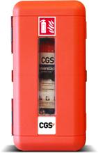 Brandsläckarskåp CGS för 6 kg pulversläckare