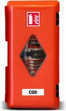 Brandsläckarskåp CGS PRO för 6 kg pulver- och 6 l skumsläckare