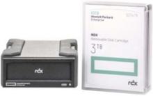 E RDX Removable Disk Backup System - Andet - USB 3.0 - Sort