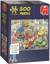 -In the autospuiterij 500pcs