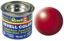 enamel paint # 330-Fire Red silk Matt