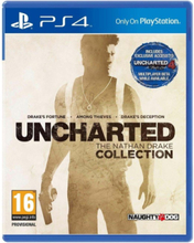 Uncharted - PlayStation 4 - Toiminta