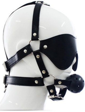 TOYZ4LOVERS Total Head Harness Restraint Suukapula valjailla