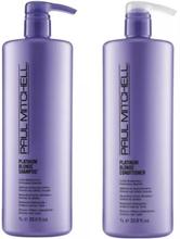 Paul Mitchell Platinum Blonde Shampoo 1000ml + Platinum Blonde Conditioner 1000ml