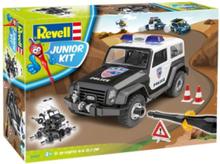 Junior Kit Offroad Police Car