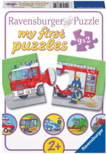 Special vehicles puzzle 9x2st