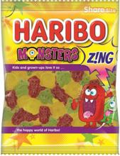 Haribo Sour Monsters 140 gram