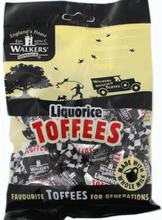 Walkers Liqurice Toffees 150 gram