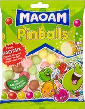 Haribo Maoam Pinballs - Godterikuler med Cola og Fruktsmak 140 gram