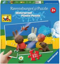 Miffy Plastic Puzzle 12st.