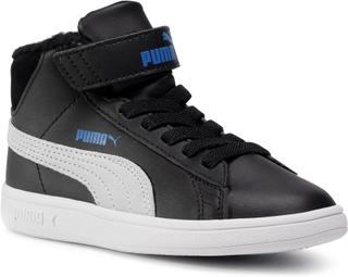 Sneakers PUMA - Smash v2 Mid L Fur V Ps 366896 08 Puma Black/Puma White