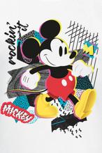 Mickey Mouse - Mickey Rockin' It -T-skjorte - hvit