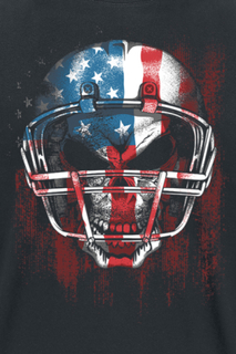Football - Football -T-skjorte - svart