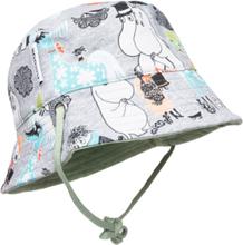 Summer Day Hat Accessories Headwear Sun Hats Blå Mumin