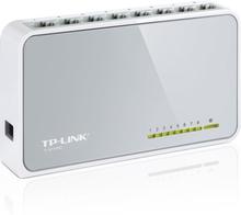 TP-LINK, nätverksswitch, 8-ports 10/100Mbps, RJ45
