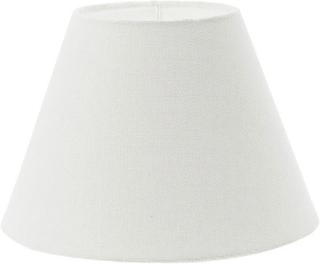 Lene Bjerre - Plain Linen, Lampeskjerm 26 cm, Rund, Hvit