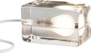 Design House Stockholm - Block Lampe, Hvit ledning
