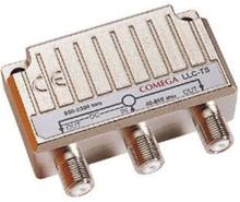 Combiner vhf-uhf/sat + dc-pass